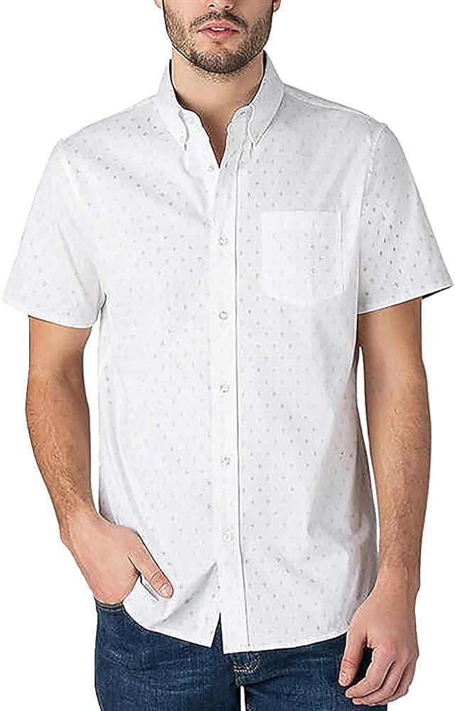 Lee Men Short Sleeve Woven Shirt