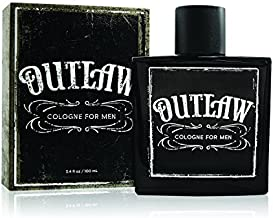 Outlaw Men's Cologne by Tru Western - Refreshing Bergamot, Lavender and Fir Balsam for a Sensual Aroma - 3.4 oz 100 mL