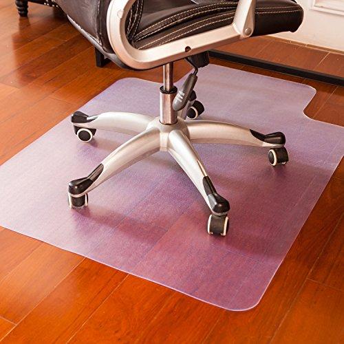 Mysuntown Office Chair Mat for Hardwood Floor, Home Office Floor Protectors for Gaming Computer...