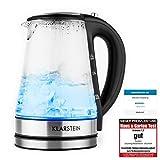 Klarstein 10027568 - Tetera eléctrica (230 V, 50 Hz, 16 cm, 22,5 cm, 1,2 kg)