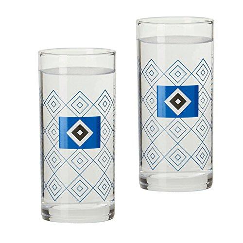 2er Set Schnapsgläser Schnapsglas Glas Hamburger SV HSV