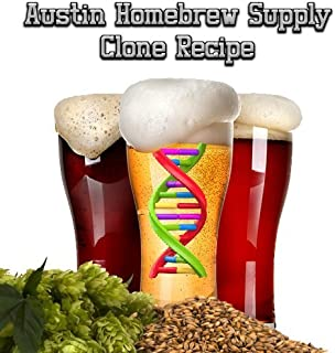 Austin Homebrew Clone Recipe Bishops Finger Kentish Ale (8C) - ALL GRAIN