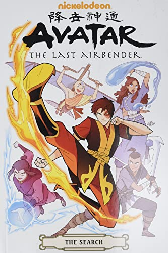 Avatar: The Last Airbender--The Search Omnibus (Nickelodeon Avatar the last airbender, The search omnibus)