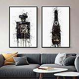 ParfüM Flasche Poster Und Kunstdrucke Mode Leinwand Bild