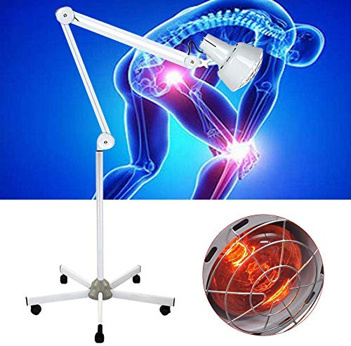 Review Of Infrared Heat Lamp 275W Floor Standing Far Infrared Heating Lamp Device Therapy Pain Relie...