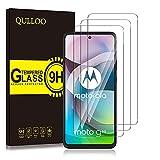 QULLOO Vetro Temperato per Motorola Moto G 5G, Pellicola Protettiva Alta Definizione Anti Graffio Protezione per Schermo per Motorola Moto G 5G - 3 Pezzi