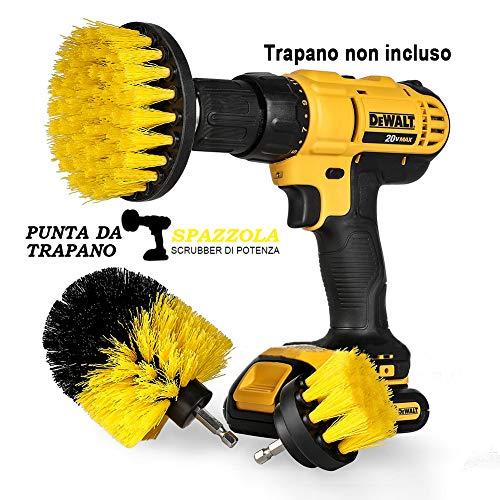 StillCool Spazzola per Trapano, Confezione da 3 Drill Brush 2