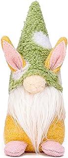 1PCS Handmade Gnome Faceless Plush Doll for Kids Women Men Easter Decoration Ornament Gift Green