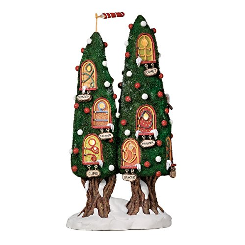 Dept 56 56886 North Pole Woods Reindeer Condo