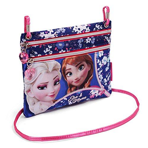 Frozen Zipper Messenger Bag, 22 cm, Pink (Rosa)