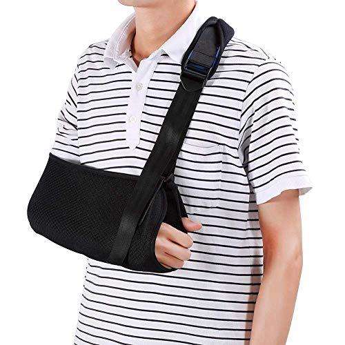 ZJchao Armschlinge, Arm Sling Schulter Wegfahrsperre, Schulter Bandage für gebrochene Arme, Verstellbare Weiche Gepolsterte Schultergurt für Gebrochene Handgelenk Schulter Immobilize Fit