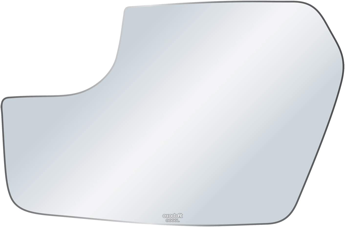 exactafit 8666L Driver Side Mirror Glass C High material Quantity limited Adhesives Replacement