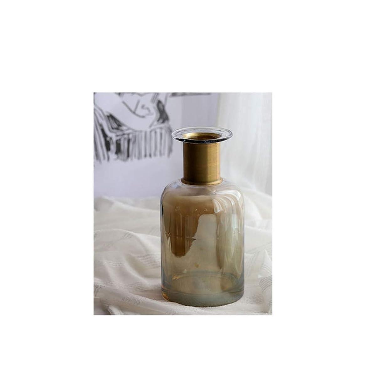 慣性陰謀休憩する花器 ルームホームデコレーションカウンター耕プラントユニークなインテリアデザインの高品質材料庭の装飾ガラスのサイズ (Size : 12×12×24cm)