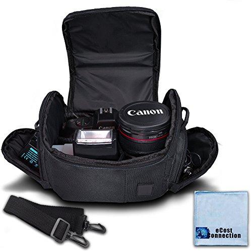Medium Soft Padded Camera Equipment Bag / Case for Nikon, Canon, Sony, Pentax, Olympus Panasonic, Samsung & Many More