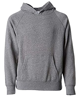 Youth Solid Classic Hoodies Soft Hooded Sweatshirts for Children (Kids 2-18 Years)