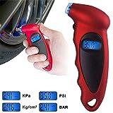 Techtest Digital Tire Pressure Gauge Meter Bicycle Bike Car Diagnostic Tool 0-150 PSI