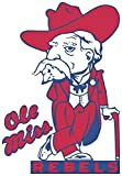 Set of 3 - Ole Miss Rebels NCAA - Sticker Graphic - Auto, Wall, Laptop, Cell, Truck Sticker for Windows, Cars, Trucks