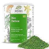 Nature's Finest Bio Detox Superfood Mix 125 g | Miscela 100% Naturale e Biologica per Disintossicare il Corpo | Ideale per Vegani e Vegetariani