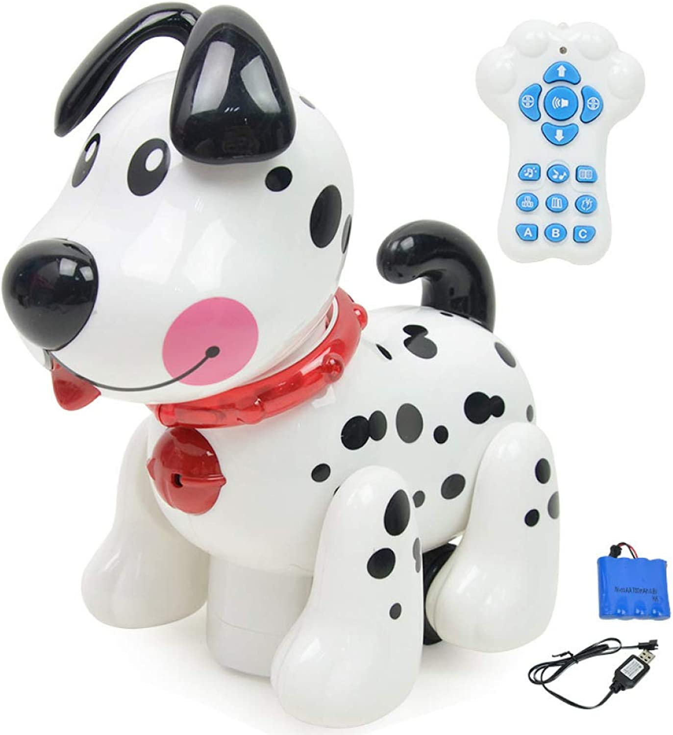 KYOKIM Electronic Pet Spot Dog Toy With Remote Control, Smart Touch Sensing