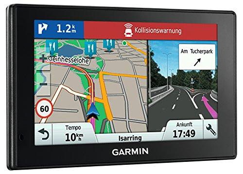 Garmin DriveAssist 50 LMT-D EU Navigationsgerät (12,7cm (5 Zoll) Touch-Glasdisplay, lebenslange Kartenupdates, Verkehrsfunklizenz, Dash Cam)