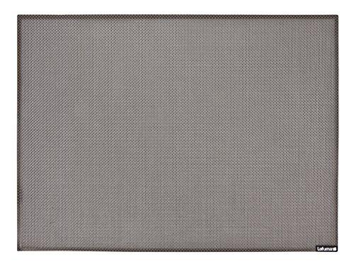 Lafuma Set de table, Facile à nettoyer, 32 x 43,5 cm, Batyline, Couleur: Graphite, LFM2611-7790