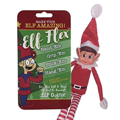 ELF Flex Elf Upgrade Kit: Make Your Elf Amazing! This Kit Will Make Your Elf Flexible and Bendable! You Will Be Able to Bend Em Grip Em Stick Em Hang Em Elf Accessories
