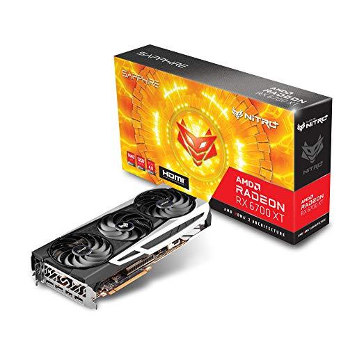 Sapphire NITRO+ Radeon RX 6700 XT OC グラフィックスボード 11306-01-20G VD7606