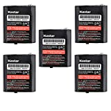 Kastar 5Pack Battery Replacement for Em1000 Talkabout Radios and Motorola M53615 KEBT-071-A KEBT-071-B KEBT-071-C KEBT-071-D T4800 T4900 T5000 T5320 T5400 T5500 MJ270R MS350R MT350R MC220R MR355 T4800