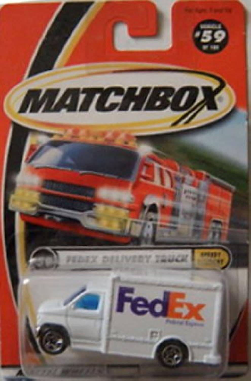 MATCHBOX  59 FedEx DELIVERY TRUCK 1 64 Scale by Mattel B002OKV3QO Heißer Verkauf  | Hat einen langen Ruf