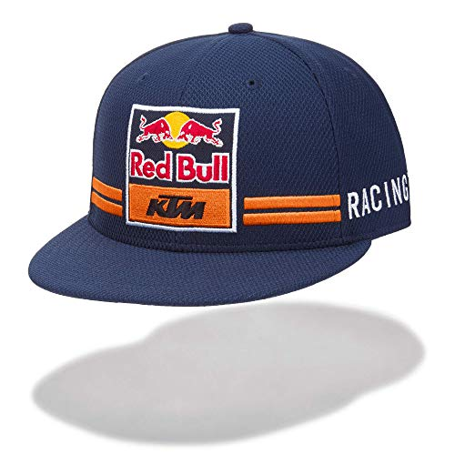 Gorra Plana Red Bull KTM Factory Taille M / L Bleu