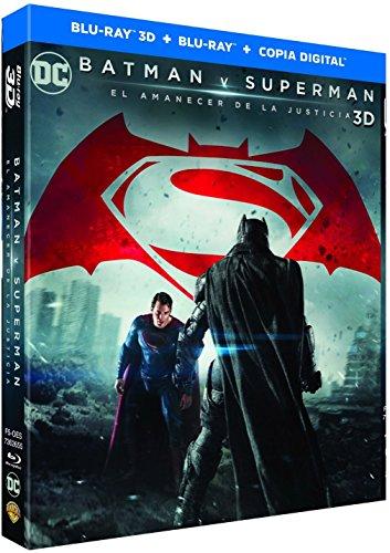 Batman V Superman: El Amanecer De La Justicia Blu-Ray 3d + Copia Digital [Blu-ray]