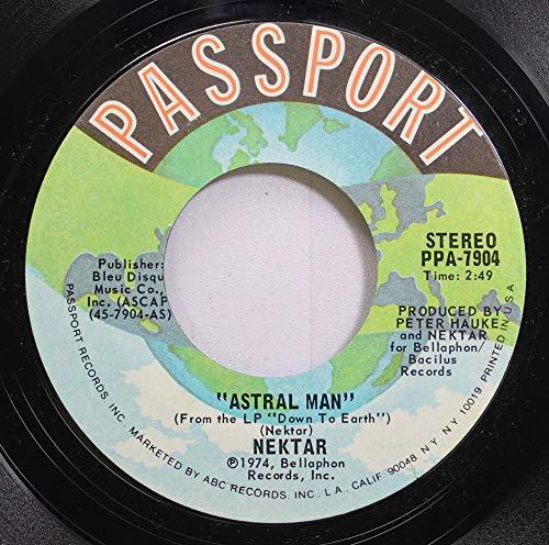 Nektar 45 RPM Astral Man / Nelly The Elephant