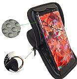 Universal Handytasche 6 Zoll Aufsteller, Shockproof, Neopren, Schwarz, für z.B. iPhone XS, XS Max, iPhone 8 Plus, Honor 8X, 10 Lite, Samsung S9, S10