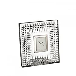 Waterford Lismore Diamond Pattern Bedside Clock