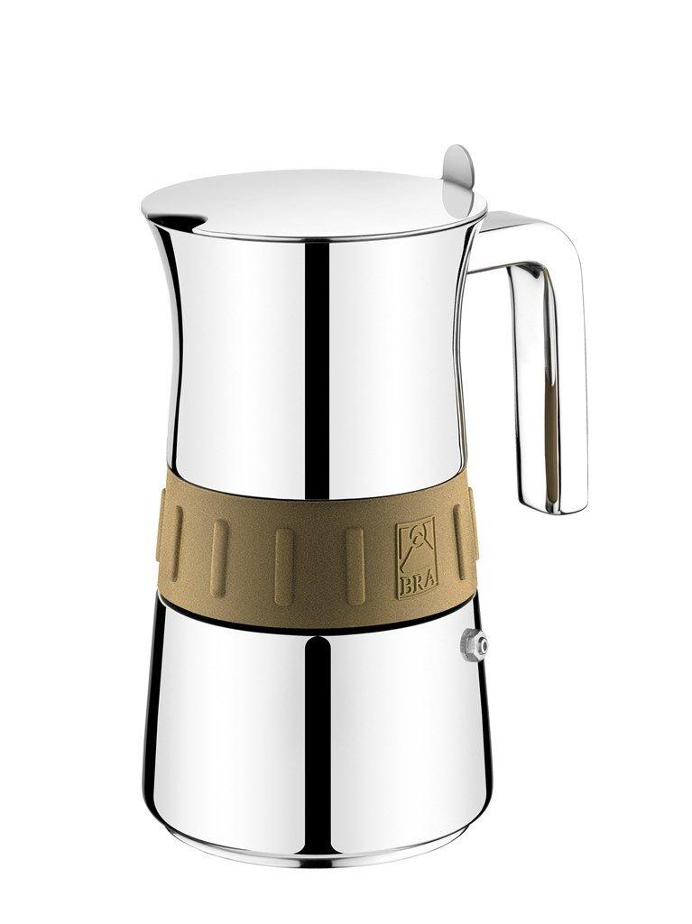 Bra 170561 - Cafetera Italiana, capacidad 6 tazas: Amazon.es: Hogar