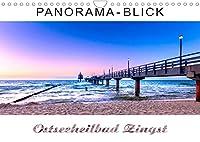 Panorama-Blick Ostseeheilbad Zingst (Wandkalender 2022 DIN A4 quer): Sehnsuchts-Bilder eines ganz besonderen Ortes (Monatskalender, 14 Seiten )