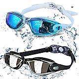ALLPAIPAI Swim Goggles - Swimming Goggles,Pack of 2 Professional...