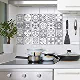 Purbeck Stone Tile Stickers Muraux Auto-Adhésif Peel And Stick...