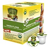 SOLLO Organic Green Tea Pods Compatible With 2.0 K-Cup Keurig Brewers Weight Loss
