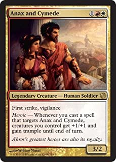 Magic: the Gathering - Anax and Cymede - Theros