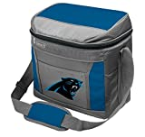 Coleman NFL Soft-Sided Insulated Cooler Bag, 16-Can Capacity, Carolina Panthers