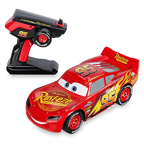 Disney Lightning McQueen RC Vehicle - Cars 3