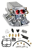 Holley 550-710 StealthRam Polished Power Pack System for Small Block Chevy