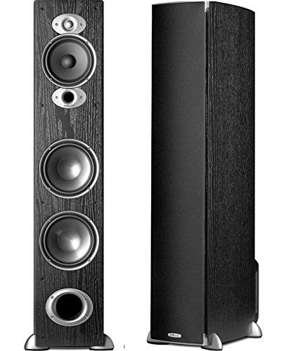 Polk Audio RTi A7 Tower 3-Way, 300W, 89 dB, 8 Ohm Speakers...