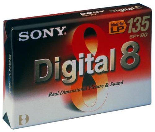 Sony - 8MM-Camcorder Kassette, Digital 8-Format, 90 Minuten