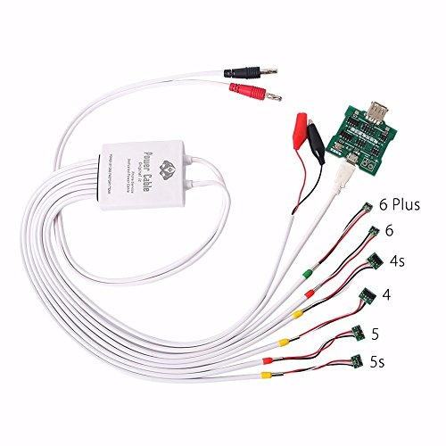 MASUNN Professional 6 in 1 Stromversorgung Telefon Aktuelle Test-Kabel und Batterie-Aktivierungs-Board Für Das iPhone 6/6 Plus/5S/5/4S/4