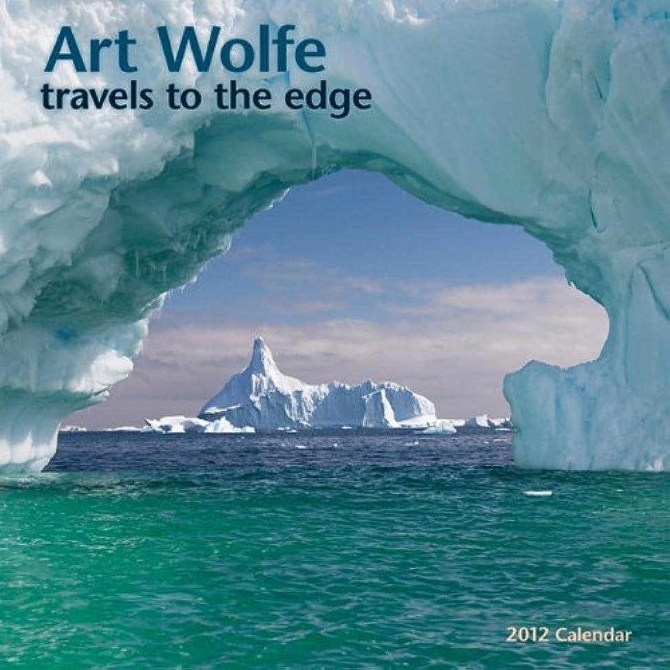 噴水融合大使Art Wolfe Calendar: Travels to the Edge