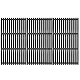 VICOOL 17' Grill Grates Porcelain Coated Cast Iron Cooking Grid(Upgrade) for Charbroil Commercial TRU-Infrared 463242716, 466242715, Walmart #555179228, G533-0009-W1, Set of 3, hyG937C