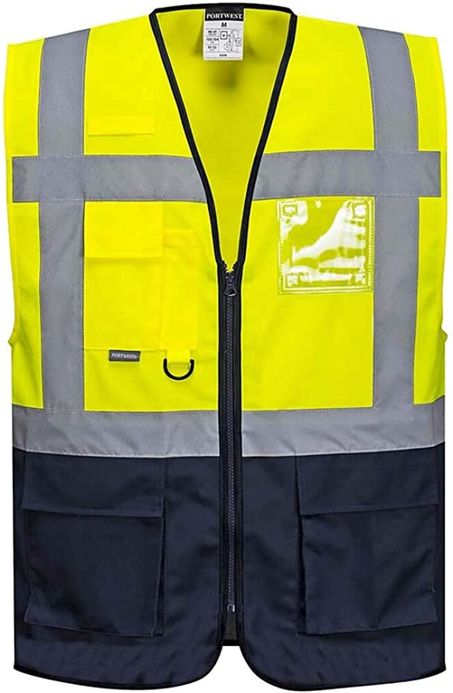 Portwest Workwear Mens Warsaw Executive Vest