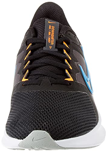 Nike Downshifter 11, Zapatos para Correr Hombre, Black/Coast-Total Orange-Dk SM, 43 EU